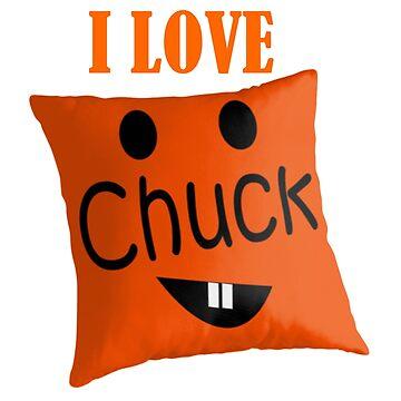 Beautiful Cushions/ Chuck / Chuck the Cushion Tshirt by ozcushions