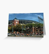 San Francisco Baseball Greeting Card