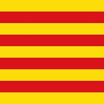 senyera, bandera de catalunya, flag of catalonia by Wyllydd