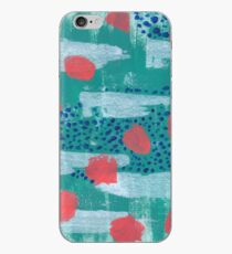 abstract coral iPhone Case