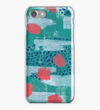 abstract coral iPhone Case/Skin