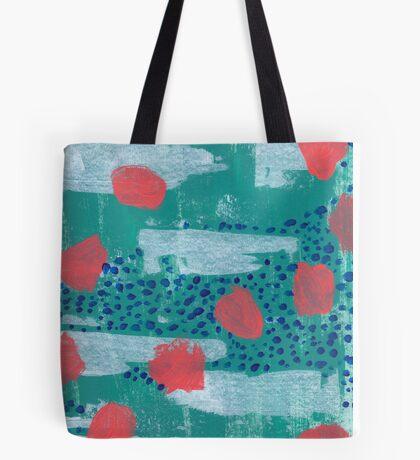 abstract coral Tote Bag