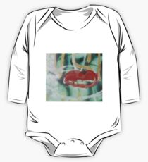 Red Kiss 2 Graffiti One Piece - Long Sleeve