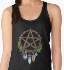 Pentacle Charm Women's Tank Top