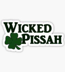 Wicked Pissah Sticker