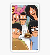 Bobs Burgers- Family portrait  Sticker