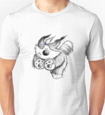 Flying Bearded Collie T-Shirt