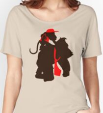 DK and Diddy (large print) Women's Relaxed Fit T-Shirt