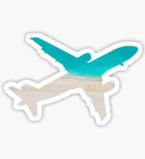 Water Landing Sticker