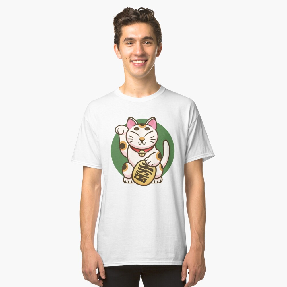 Lucky Kitty Classic T-Shirt