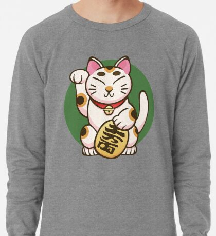 Lucky Kitty Lightweight Sweatshirt