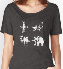Divine Beasts Women's Relaxed Fit T-Shirt