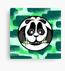 Panda Ball Canvas Print