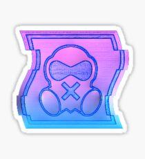 80's Mute Icon Sticker