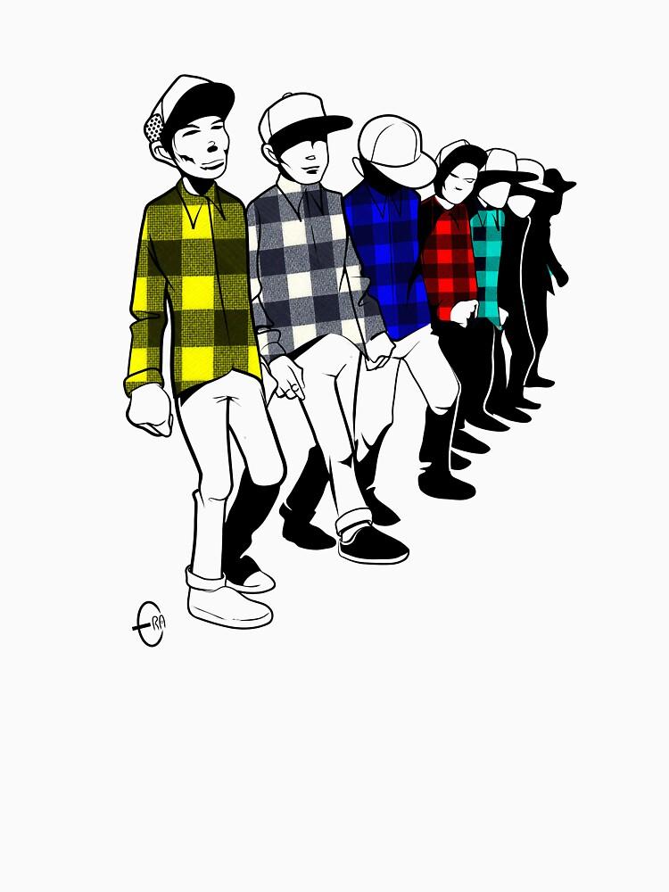 Shirt Parade by BizarroArt