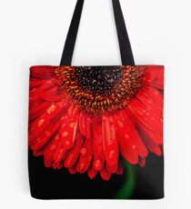 Gerbera Red  Tote Bag