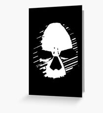 THE MIGHTY SKULL  Greeting Card