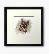Tortitude Framed Print