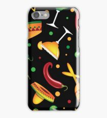 Mexican seamless pattern iPhone Case/Skin