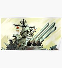 USS Iowa Poster