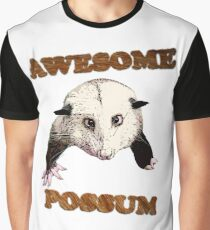 Awesome Possum Graphic T-Shirt