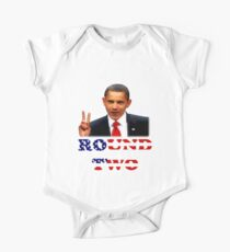 Oh Yeah Obama One Piece - Short Sleeve