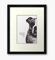 Benson 2 Framed Print