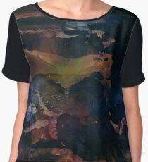 Gojira | Alcohol Ink Abstract Chiffon Top
