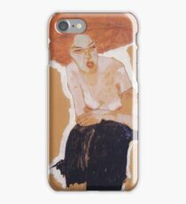 Egon Schiele - The Scornful Woman 1910 iPhone Case/Skin