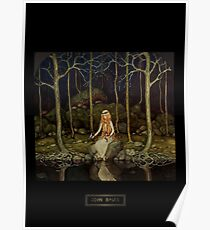 """John Bauer's Fairytale Art """"The Princess In The Forest"""" Poster"""