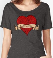Yarn addict tattoo Women's Relaxed Fit T-Shirt