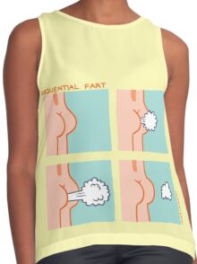 Sequential Fart comic Contrast Tank