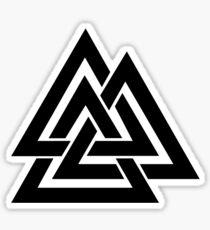 Walknut / Valknut - Wotan's Knot / Odins Knot Sticker