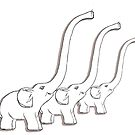 Happy Elephants by flashcompact