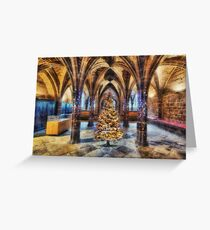 Christmas Cathedral Greeting Card