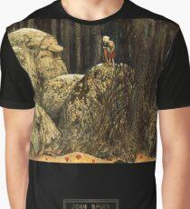 "John Bauer's Fairytale Art ""Stone Troll"" Graphic T-Shirt"