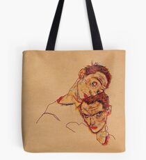 Egon Schiele - Double Self Portrait 1915 Tote Bag