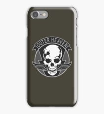 Metal Gear Solid - Outer Heaven Emblem  iPhone Case/Skin