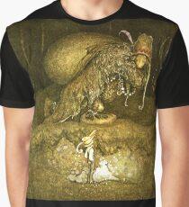 "John Bauer's Fairytale Illustration ""Troll"" Graphic T-Shirt"