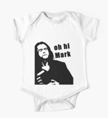 The Room Tommy Wiseau quote Short Sleeve Baby One-Piece