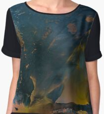 Avalanche | Alcohol Ink Abstract Women's Chiffon Top