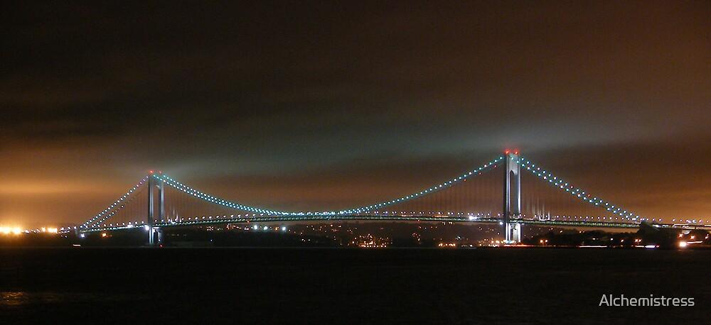 Brooklyn Bridge by Alchemistress