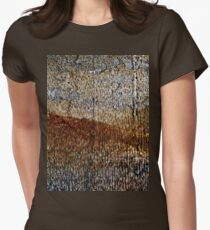 Rusty landscape Womens Fitted T-Shirt