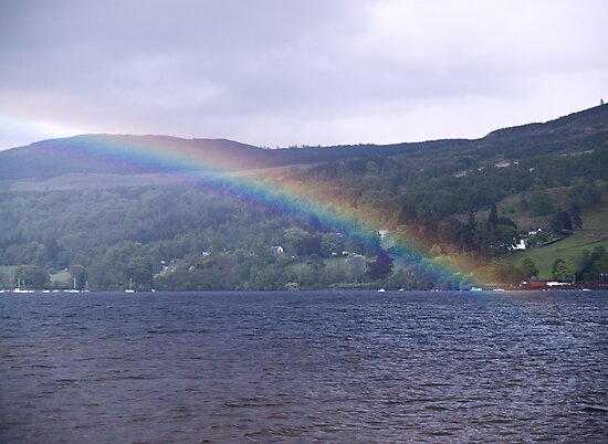 Loch Tay Rainbow by Tim Haynes
