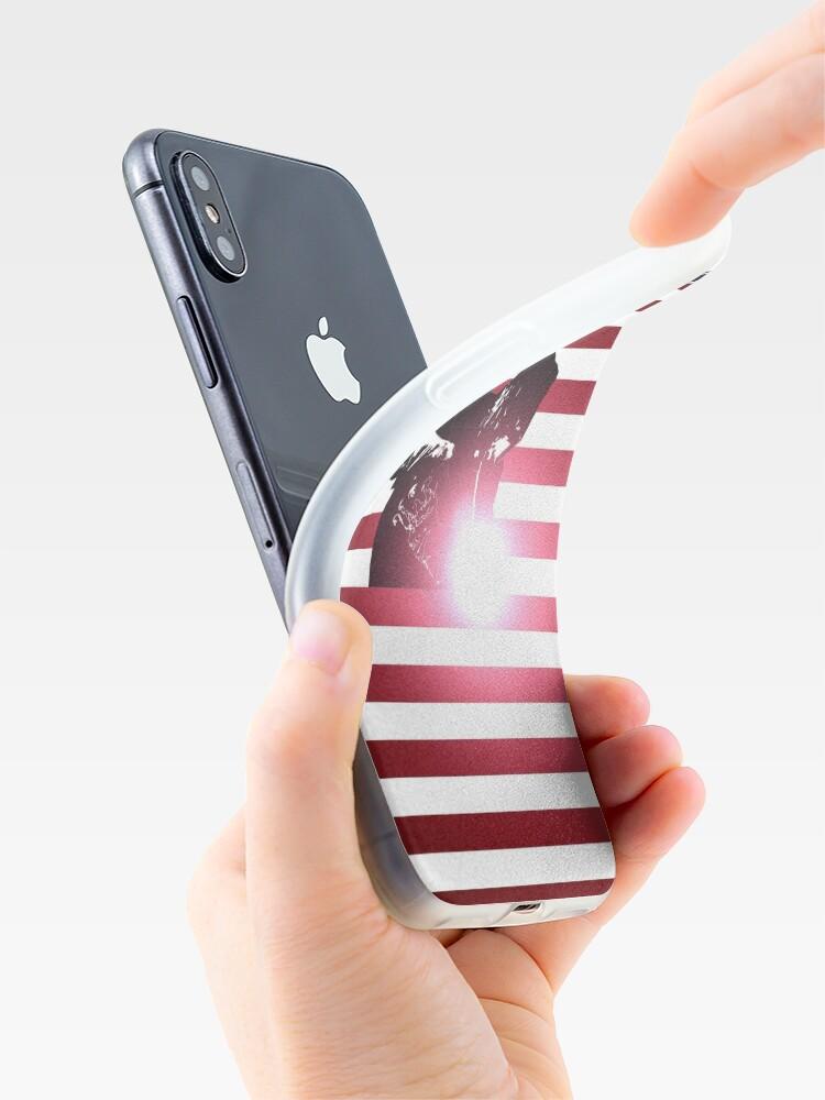 Alternative Ansicht von Schweißen: Schweißer & amerikanische Flagge iPhone-Hülle & Cover