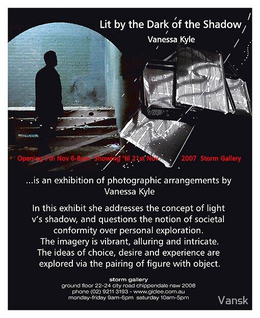 Exhibition Invitation by Vansk