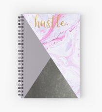 HUSTLE. Spiral Notebook