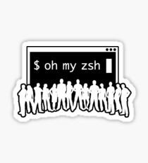 Oh My Zsh Sticker Sticker