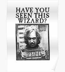 WANTED - Sirius Black  Poster