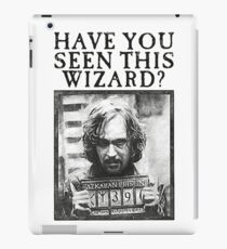 WANTED - Sirius Black  iPad Case/Skin